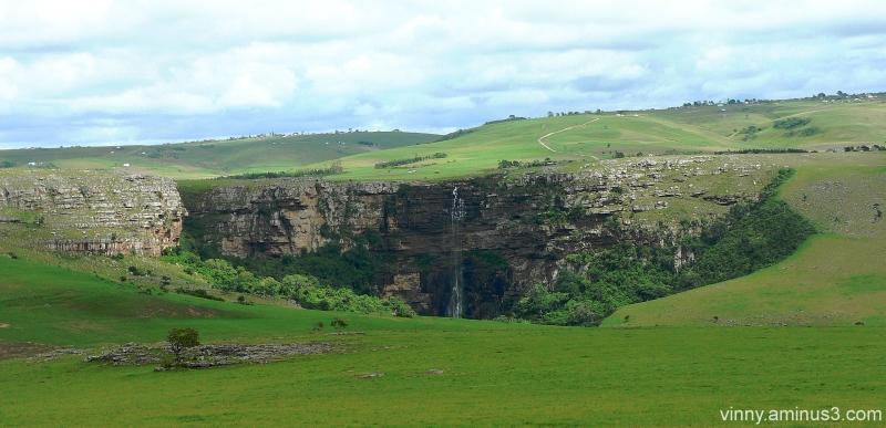 Mateku Falls, rural Eastern Cape, ZA - Landscape & Rural