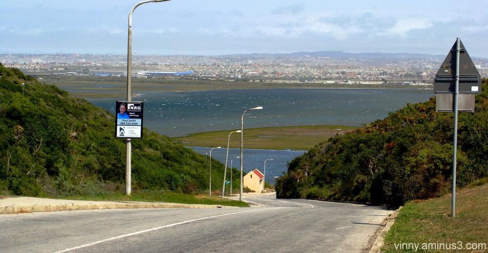 Swartkops estuary & Port Elizabeth skyline