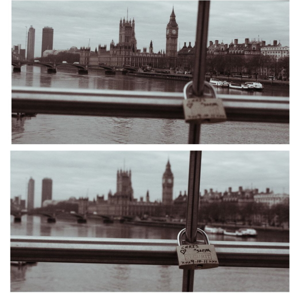 Love lock - Big Ben