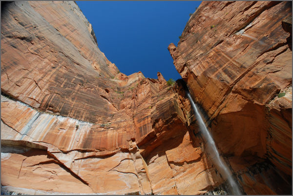Waterfall in Zion