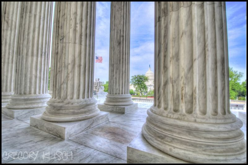 U.S. Supreme Court Steps