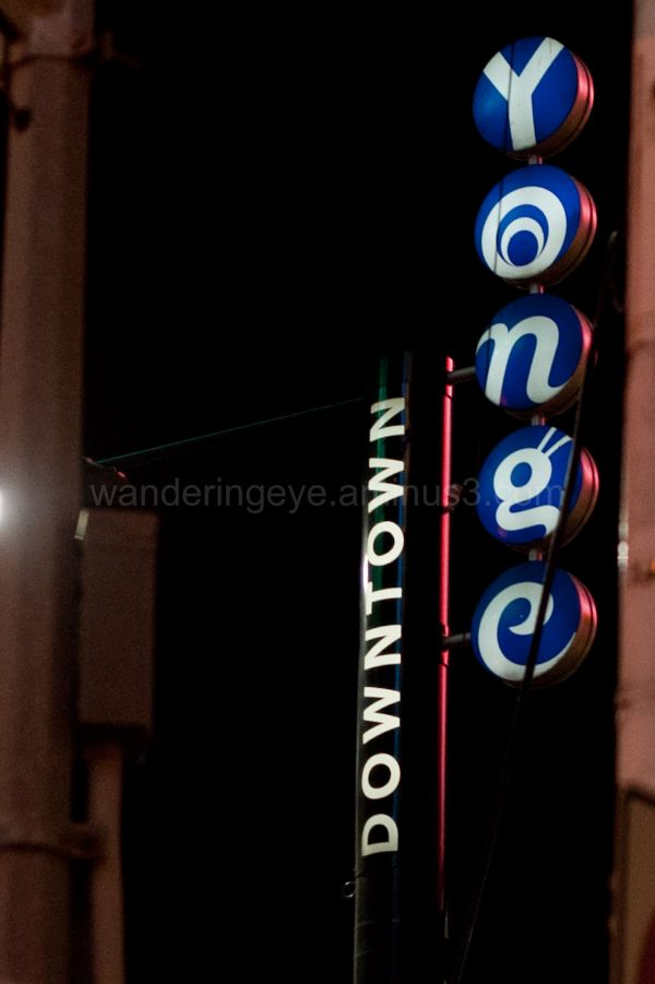 Yonge Street Sign