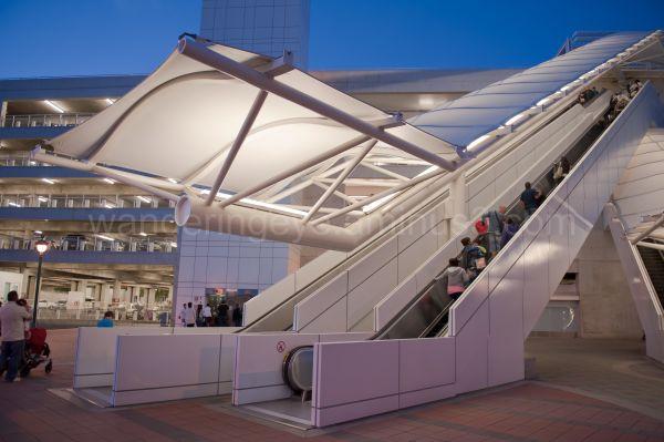 Escalator @ Disneyland