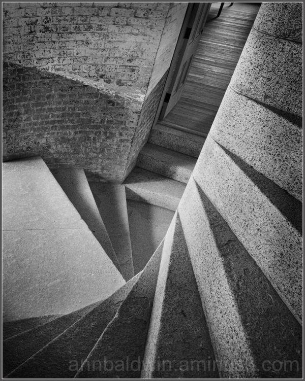 Stone steps descending into darkness
