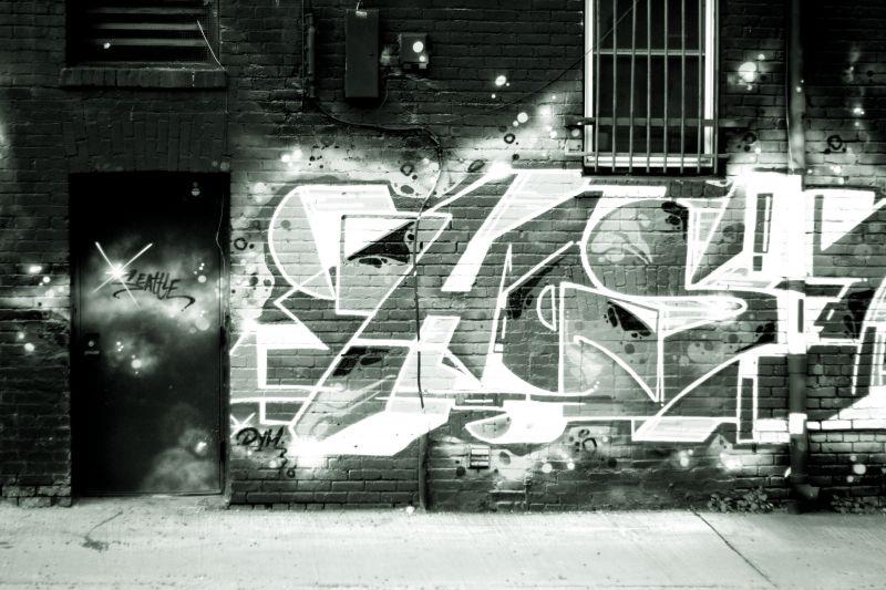 Graffiti Tag in Seattle, WA