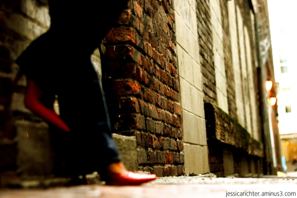 shoes, heels, pumps, alley