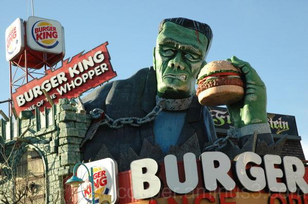 Clifton Hill - Burger King Niagara Falls