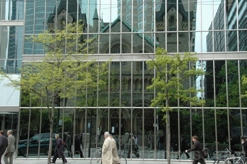 Reflection St Andrews Church Toronto