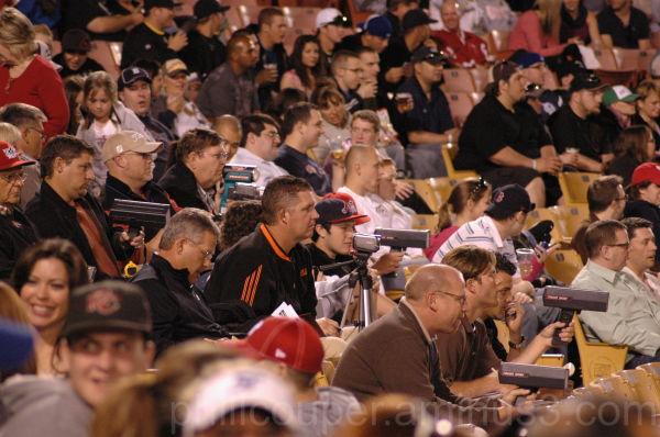 Las Vegas 51's Baseball scouts