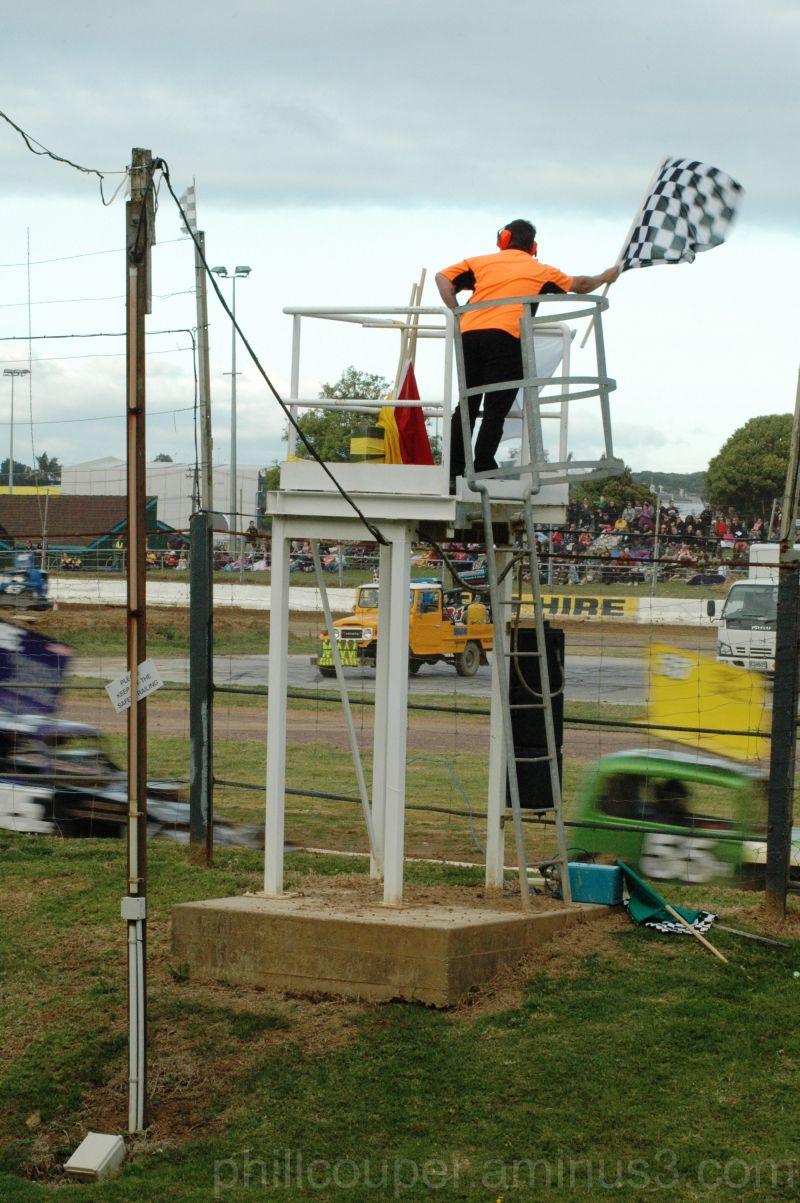 Race over @ Waikaraka Park