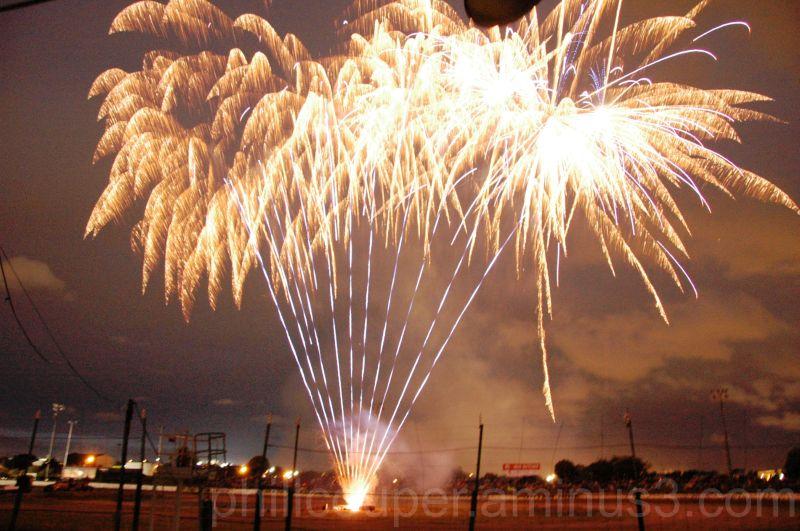 Fireworks @ the speedway