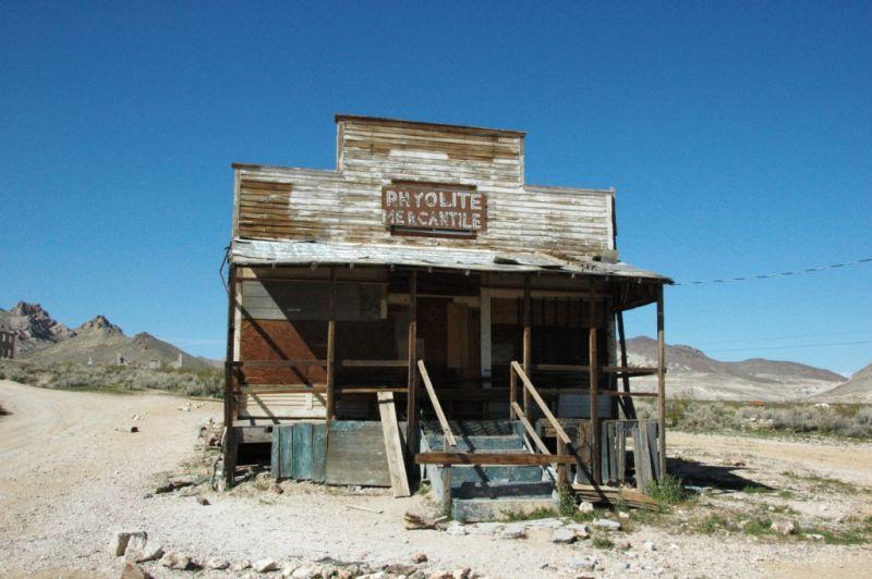 Ghost Town Rhyolite Nevada