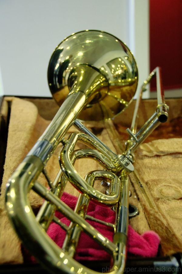 Bb/F trombone