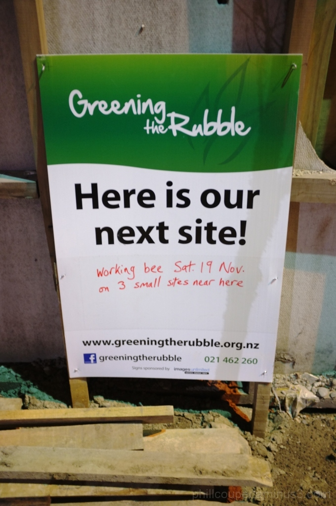 Greening the Rubble Christchurch Earthquake