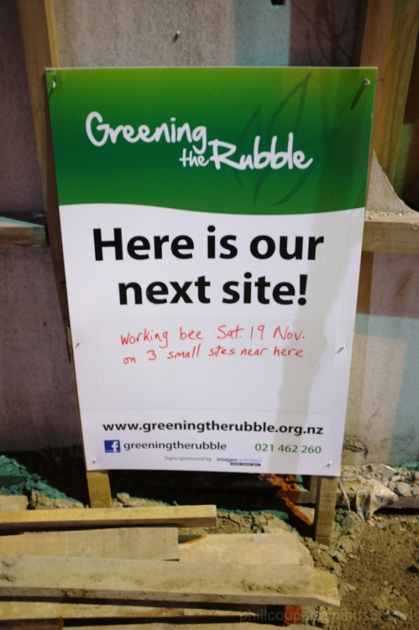 Greening the Rubble Christchurch Earthquake