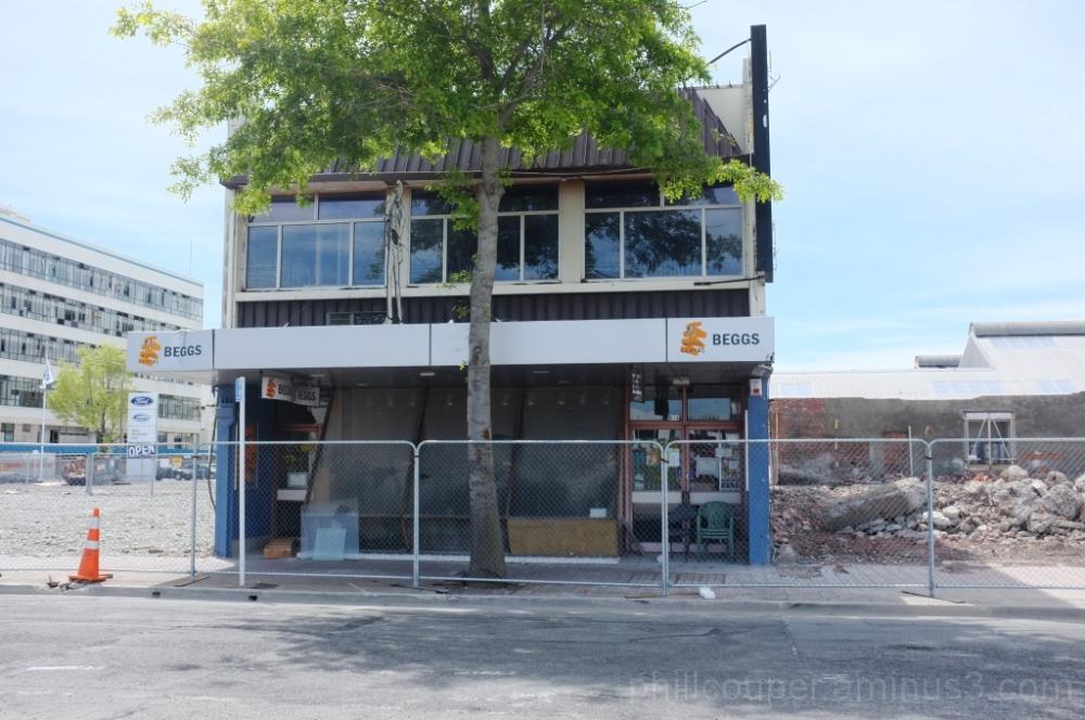 christchurch earthquake shop