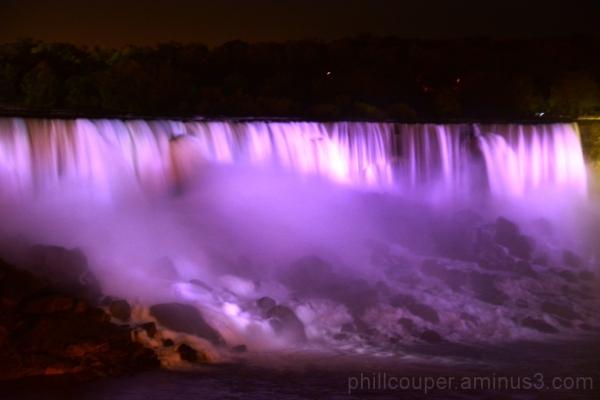 American falls, Niagara @ Night