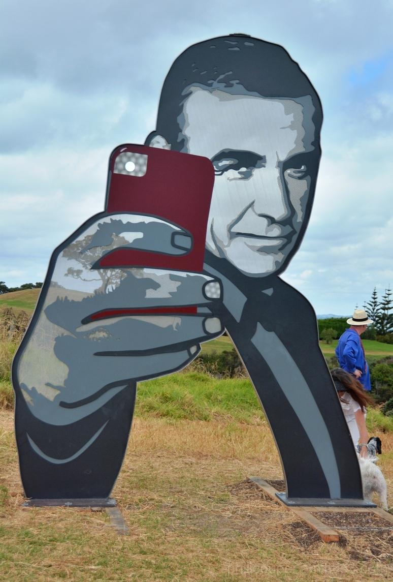 Bond is my word - Selfie Waiheke