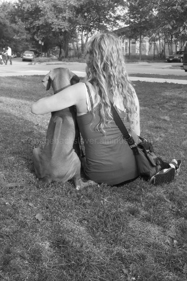 Me and my ridgeback