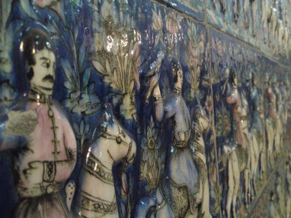 Golestan palace tiles