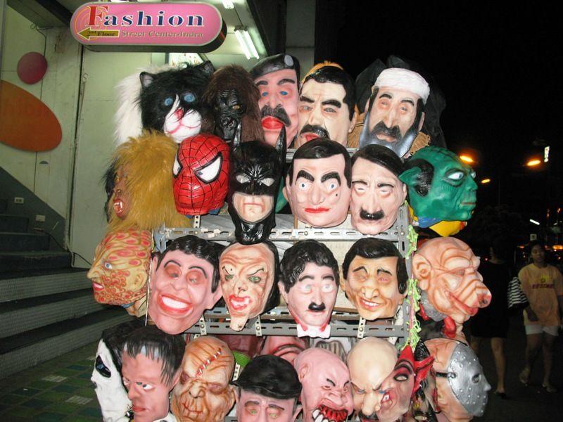 political mask