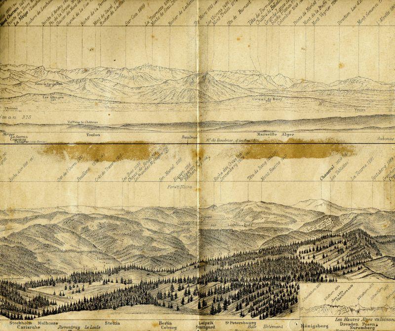 Le panorama du Chasseron VII