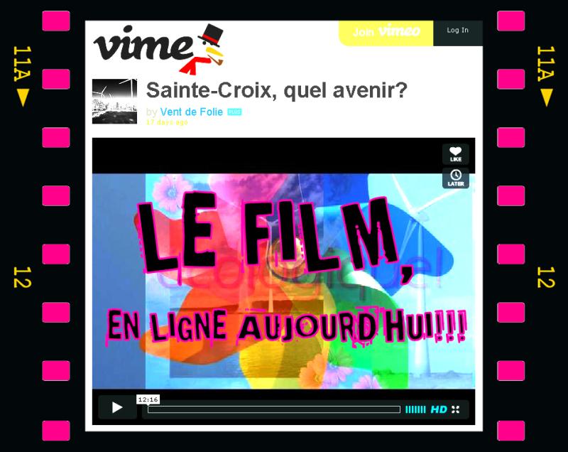 SAINTE-[CROIX, QUEL AVENIR?                LE FILM