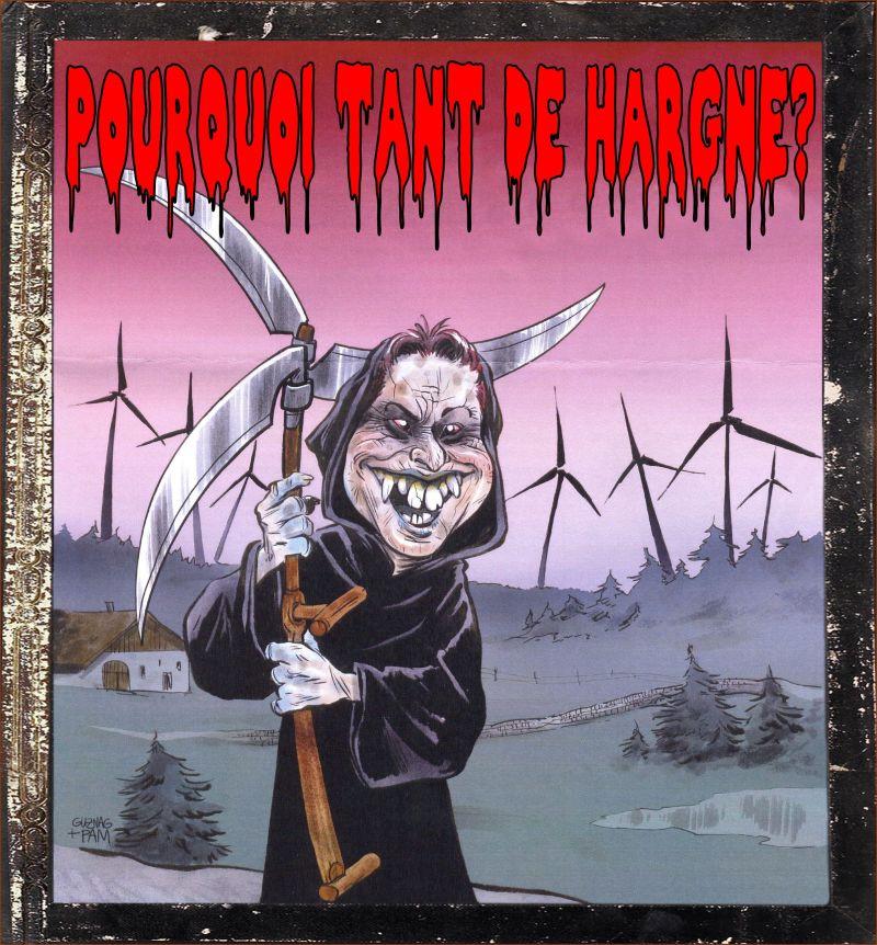 POURQUOI TANT DE HARGNE?