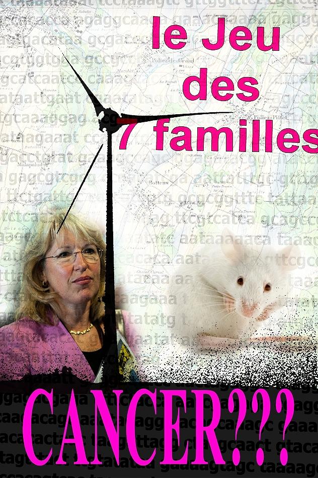 Jacqueline de Quattro, les éoliennes et le cancer.