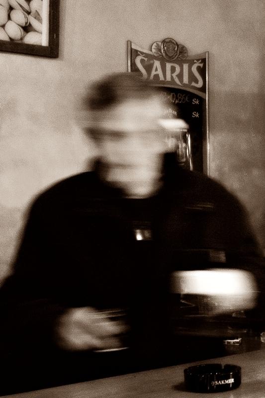 drinker in the pub