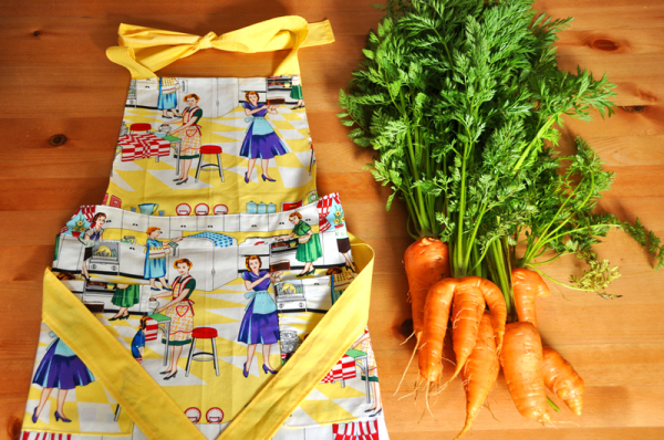 Carrots and my apron