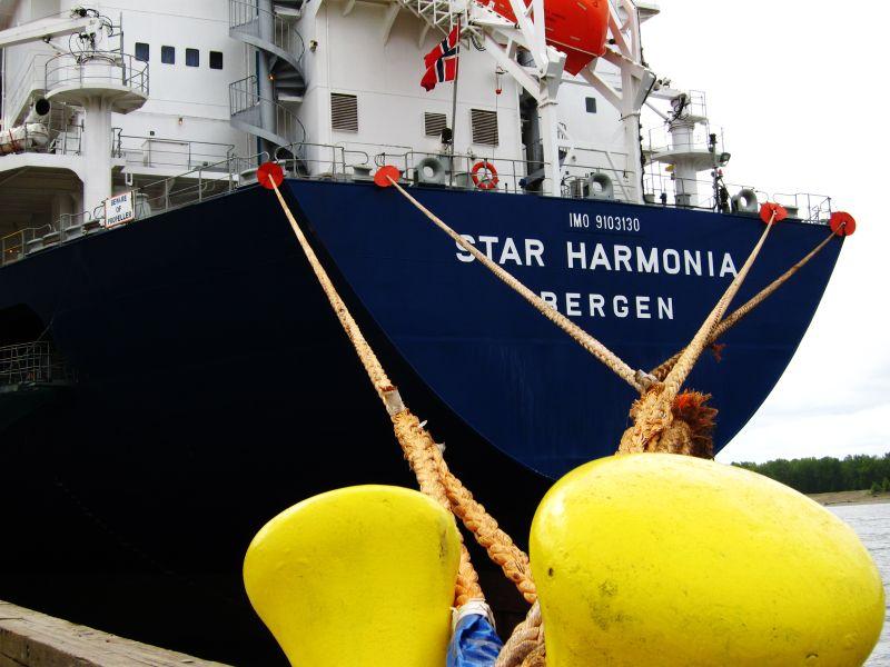 The Star Harmonia, Cargo Ship