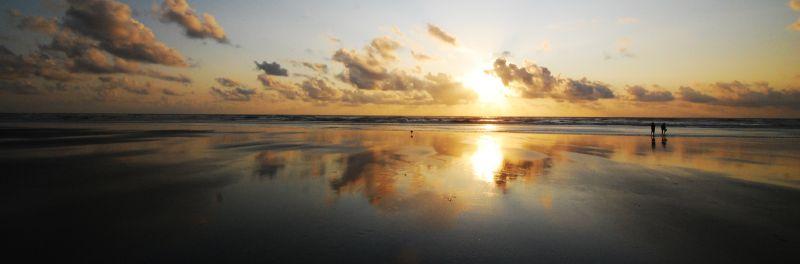Gearhart Oregon, beach sunset