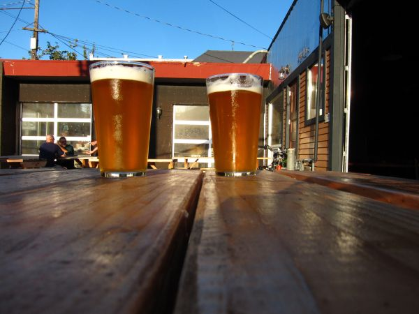Outside Migration Brewing, Portland OR