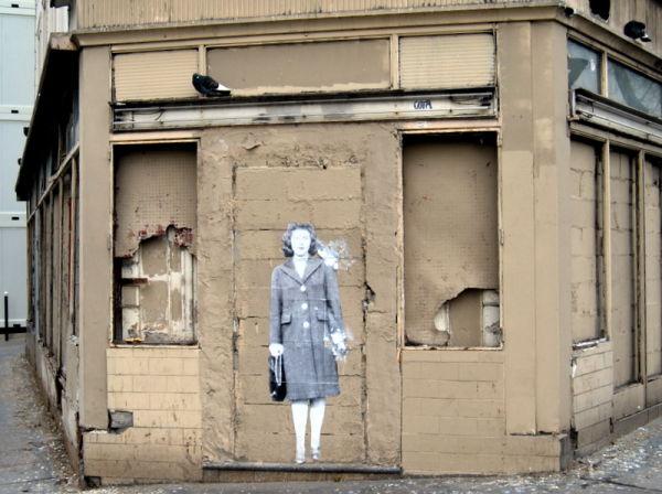 Les pigeons - street art  2