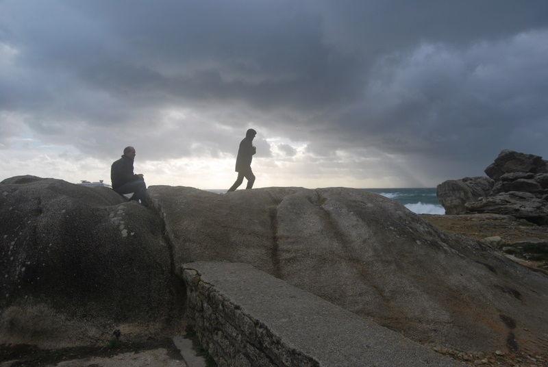 Après la tempête en Bretagne
