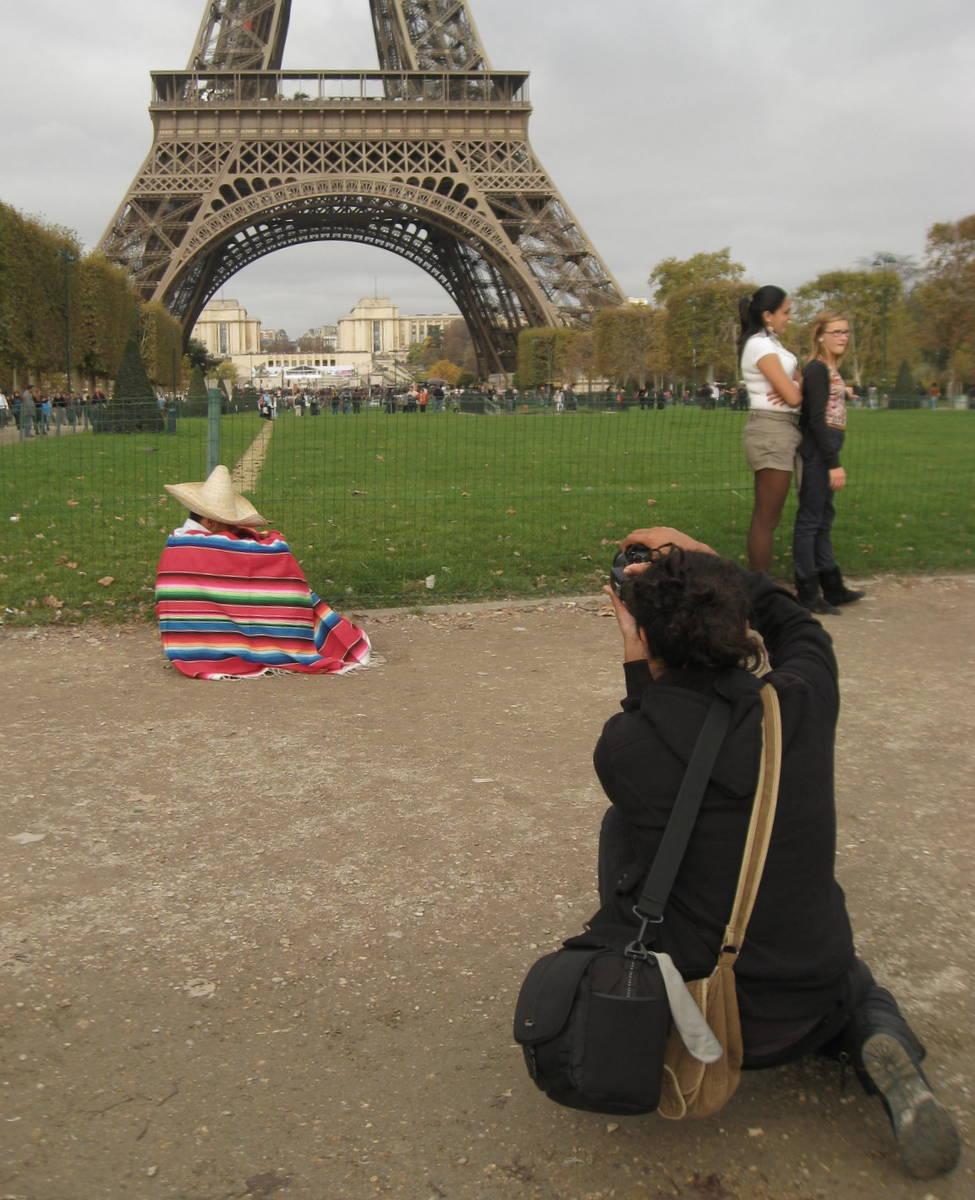 Le Mexicain à Paris .