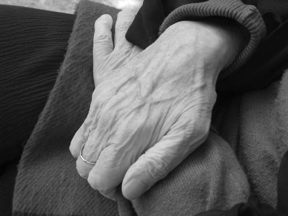 Mother's hands .