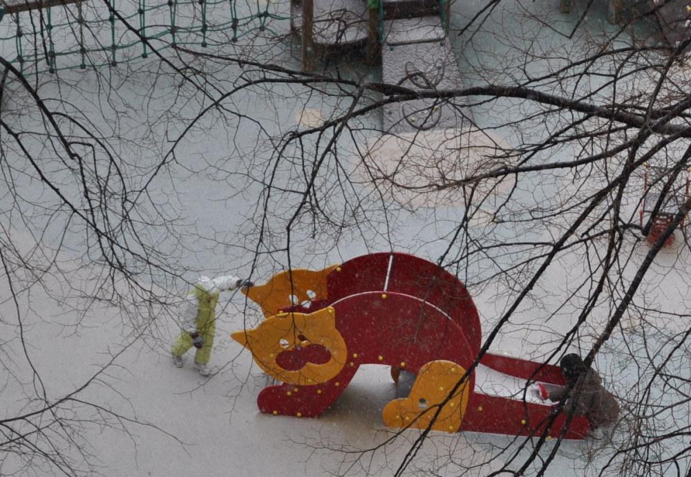 Jeux d'hiver .