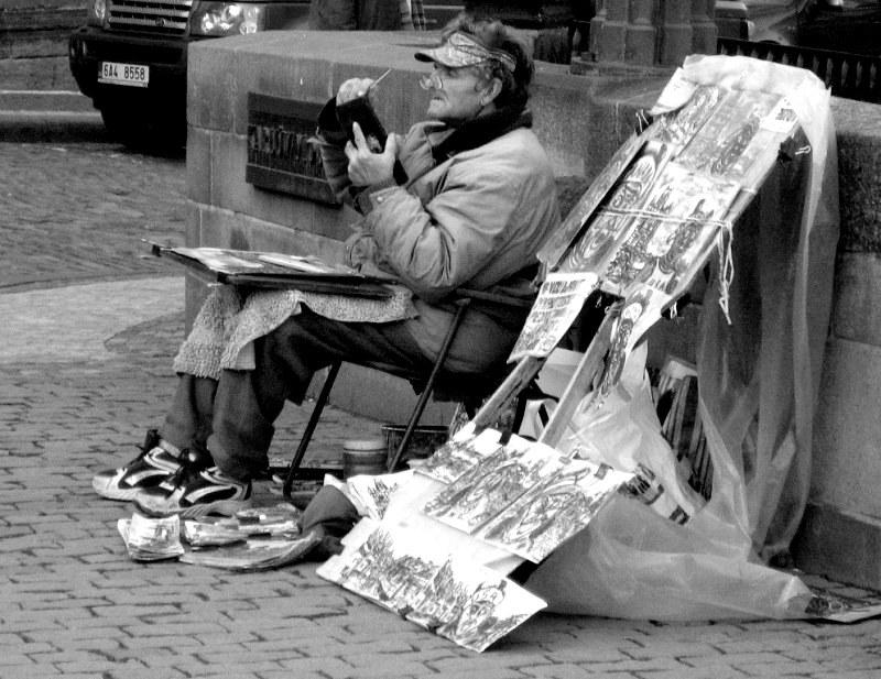 Le Peintre .