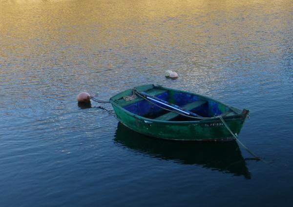 Barque en Bretagne .