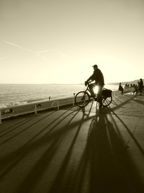 .......à bicyclette !