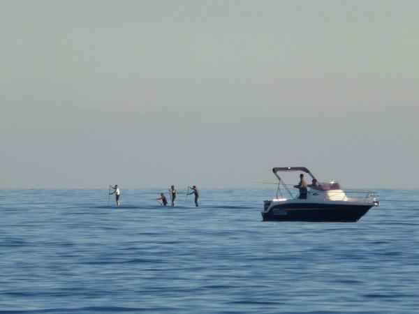 Flotter ou marcher sur l'eau !
