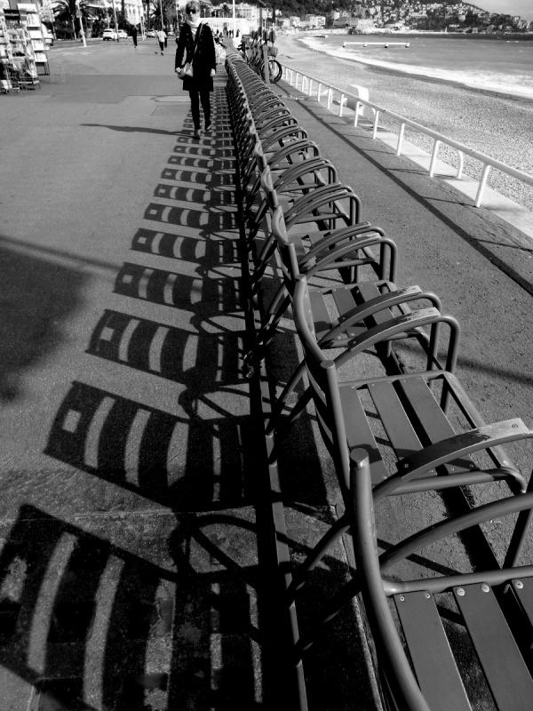 Marche à l'ombre .