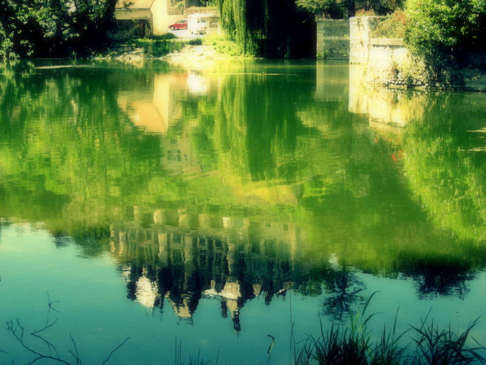 reflets .