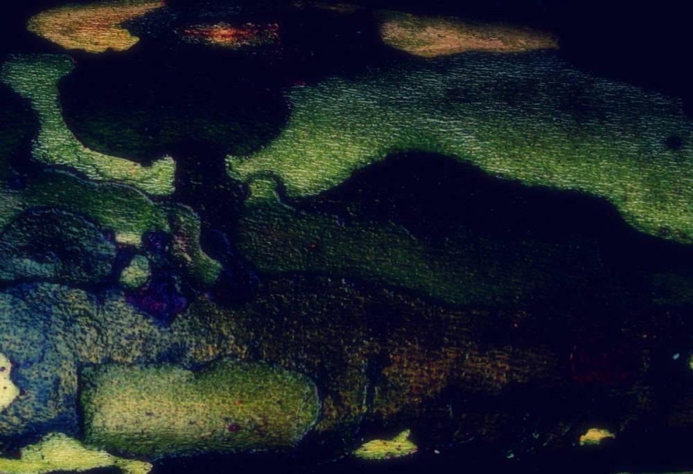 Paysage abstrait .