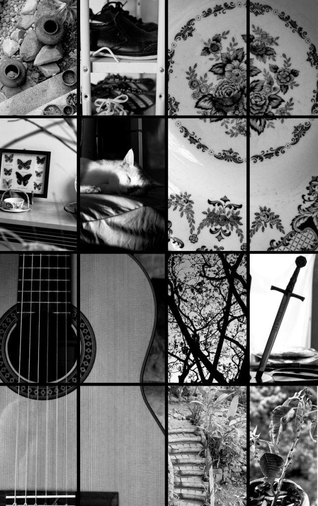 Black and White Random Series
