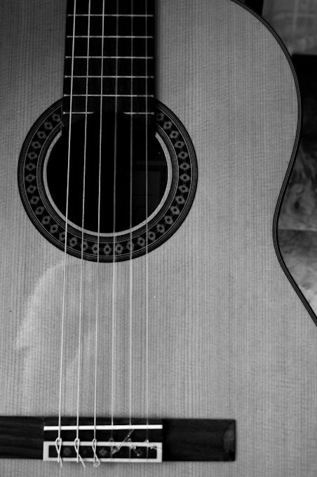 The strings on my guitar