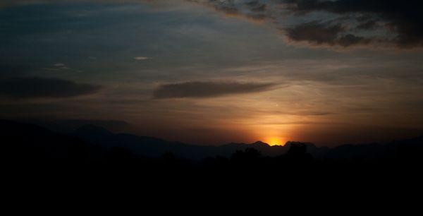 Zambales Mountains at Sunrise