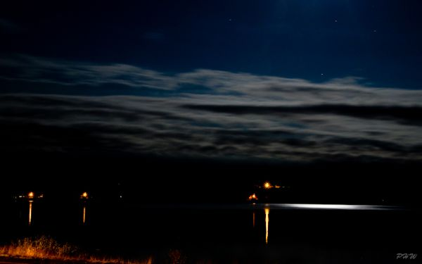 Moon light On The River #2